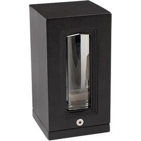 Udendørs væglampe , G9, IP65, sort
