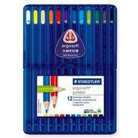 Staedtler Ergosoft Jumbo 158 Sb12 Coloured Pencils 12-pack