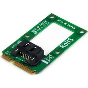Startech mSATA till SATA-HDD/SSD-adapter - Mini SATA till SATA-konverteringskort