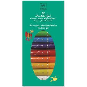 Djeco Pastels Gel Pen 12-pack