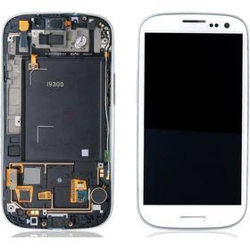 Samsung Galaxy S3 Skärm med LCD-display, Vit - Original
