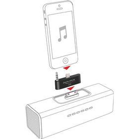 DeLOCK adapter, Lightning ha och 3,5mm minitele ha till Apple 30-pin ho, för iPh