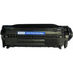 HP 12A (Q2612A)C103/303/703/FX9/10/L90/C104 Lasertoner, svart, Compatible(2000 sidor)