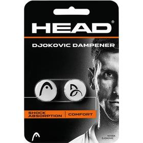 Head Djokovic White Dampener