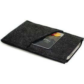 Trendy KoksGrå filt Cover Håndsyet iPhone - Samsung
