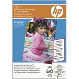HP Fotopapper Glossy Premium 10x15 60 ark 240g, tear-off tab Q1992A