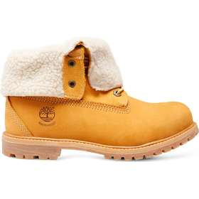 c93a5e411c5 Timberland Earthkeepers Authentics Teddy Fleece Waterproof Fold-Down -  Yellow/Beige
