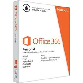 Microsoft Office 365 Personal - 1 PC/MAC + Tablet eller iPad