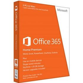 Microsoft Office 365 Home - 5 enheter + 5 tablets