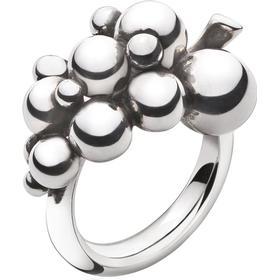 Georg Jensen Moonlight Grapes Sølv Ring - S (3558680)