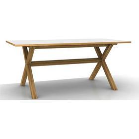 Spisebord i hvid melamin møbler - Sammenlign priser hos PriceRunner