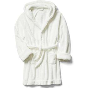 Fleece Sleep Robe - New Off-White (232383000)