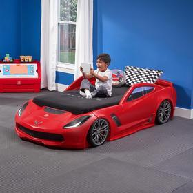 Step2 Corvette Barnsäng Bil 2 Lägen