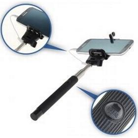 Powery Selfie Stick / Monopod / Einhandstativ til Smartphones