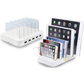 5-ports USB-ladestation