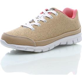 Oill Cork Signature - Beige - female - Sko - Sneakers - Lave Sneakers