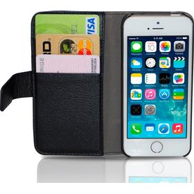 ISOTECH Wallet Case For iPhone 5/5s Black