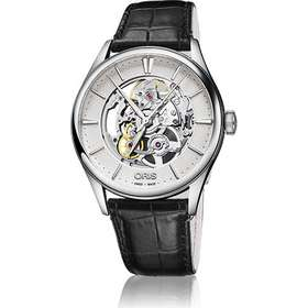 da93663314b Oris Culture Artelier Skeleton (01 734 7721 4051-07 5 21 64FC)