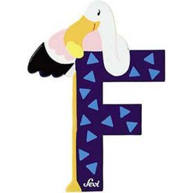 Sevi Letter F Flamingo