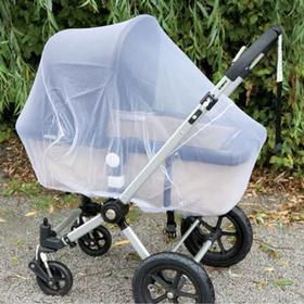 Alvi Vitt myggnät för barnvagnar (94401)