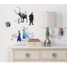 RoomMates Frozen Wall Decals with Glitter