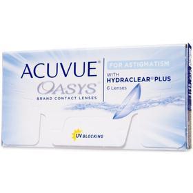 Johnson & Johnson Acuvue Oasys for Astigmatism, 6/box