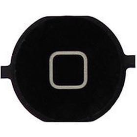 Apple iPhone 4S home knap - sort