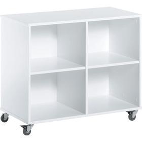 HoppeKids 70′ Shelf Unit on Wheels