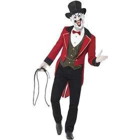 clown maskeraddräkt. Smiffys Elak Cirkusdirektör Maskeraddräkt 68396e510b7f8