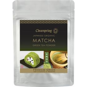 NatureSource Clearspring Matcha Grøn Te Pulver Ø (40 gr)