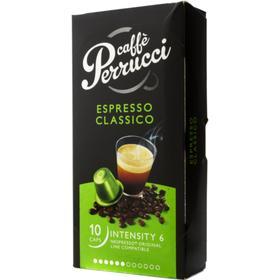 Caffe Perucci Caffè Perrucci Espresso Classico kapslar, 10 st 8718657491837