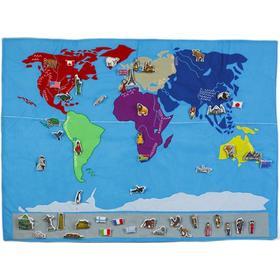 Oskar & Ellen Världskarta