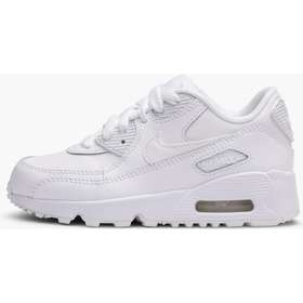 separation shoes a525e 5602c Sneakers. Nike Air Max 90 Leather White White (833414-100)