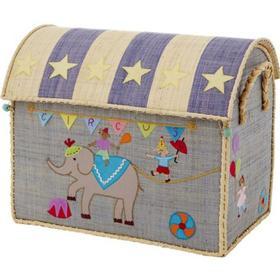 Rice Medium Circus Toy Basket