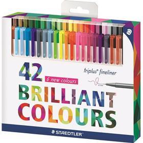 Staedtler Triplus Fineliner Color Pens 0.3mm 42-pack