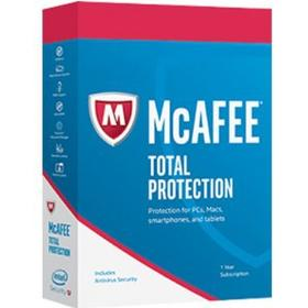 McAfee Total Protection 2018 - 1 PC / 1 år