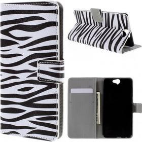 HTC One A9 Plånboksfodral Zebra Stripes