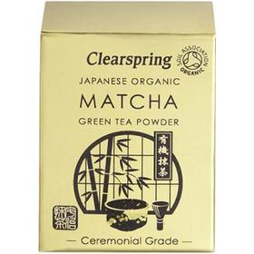 Clearspring Matcha pulver Ceremonial EKO 30 g