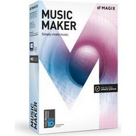 Magix Music Maker Windows Engelsk Box