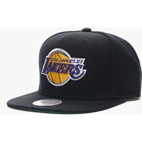 Mitchell & Ness LA Lakers Wool Solid Snapback