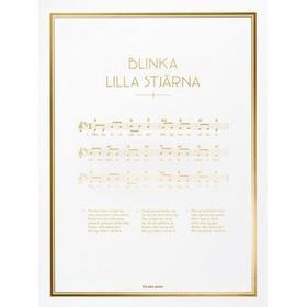 The Note Poster Blinka Lilla Stjärna