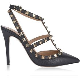 Valentino Rockstud Ankle Strap Pump (PW2S0393VCE 0NO)