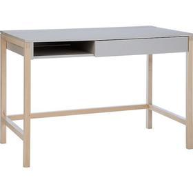Northgate MEL small skrivbord  Grå/björk Woodman