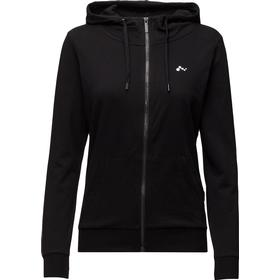 Only Onplina Zip Hood Sweat - Opus - Black