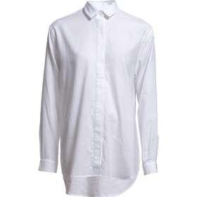 skjorta dam vit. Samsøe   Samsøe Caico Shirt 2634 - White d782aa125085b