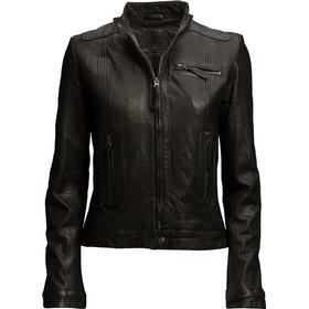 Munderingskompagniet Karla Leather Jacket - Black