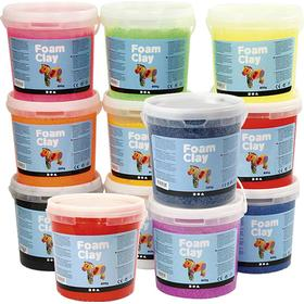 Foam Clay Assorted Colors Clay 12 X 560g