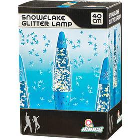 Dance Snöflinge Glitterlampa Lavalampa
