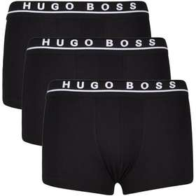 31864904dbf hugo boss undertøj mænd. Hugo Boss Stretch Cotton Trunks 3-pak - Sort