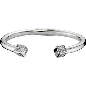 Tommy Hilfiger Stainless Steel Silver Plated Bracelet Crystal (2700740) a498d627de04c